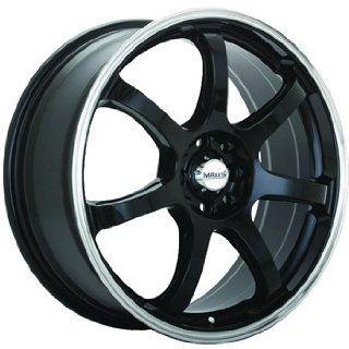 Maxxim Knight 17x7 Black Wheel / Rim 5x100 & 5x4.5 with a 40mm Offset