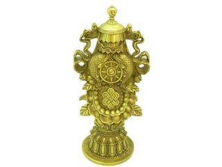Brass Eight Auspicious Symbols of Buddhism