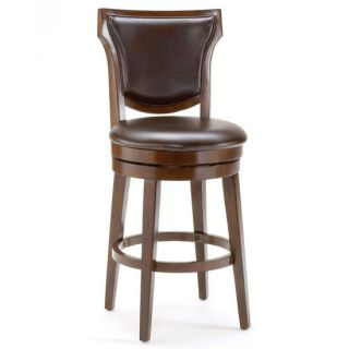 Hillsdale Furniture Country Heights Swivel Stool Rustic Cherry Finish