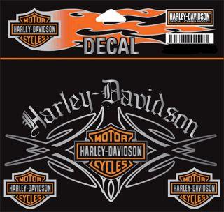 Harley Davidson Native Decal 5 1 2 inch Decal