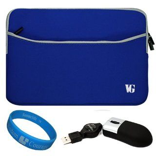 Sleeve Water Resistant Case with Zippered Accessory Pocket for 13