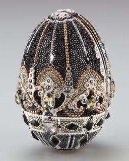 Judith Leiber Russian Egg Crystal Clutch