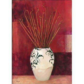 : Jarrones Con Flores Secas I   Poster (13.75X19.75): Home & Kitchen