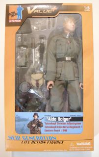 Aldo Holger   Dragon Models WWII 1/6 scale 12 German Soldier action