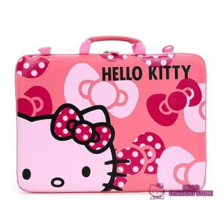 Hello Kitty Laptop Sleeve / Case / Cover  Ribbon