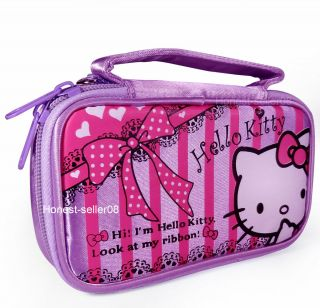 Purple Hello Kitty New Pouch Case Bag for Nintendo NDS Lite DS NDSi