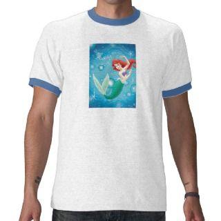 Little Mermaid Birday Card Disney Shirt