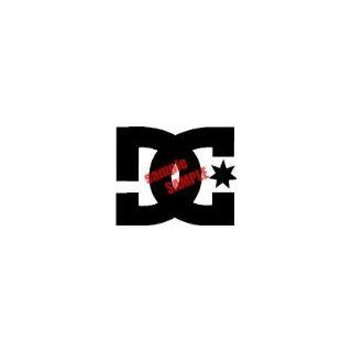 DC SHOES 12 LOGO WHITE VINYL DECAL STICKER Everything