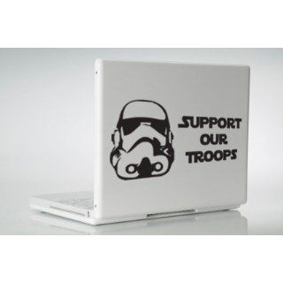 Star Wars Stormtrooper Support Our Troops Vinyl Decal
