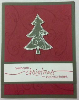 Your Own Card Kit   10 Handmade Christmas/Holiday Cards   Stampin Up