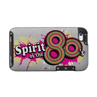 Spirit of the 80s girls pink logo ipod case