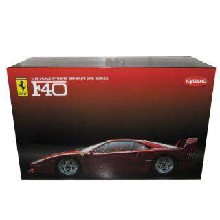 Ferrari F40 Red 112 Kyosho Diecast Model Car Toys