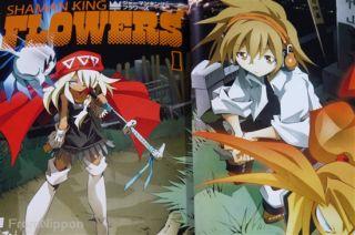 Japan Hiroyuki Takei Manga Shaman King Flowers Vol 1