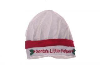 Girls Santa Claus Little Helper Elf Christmas Xmas Holiday Hat Red