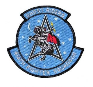 History of the 416th Tactical/Fighter Squadron Ghost Riders