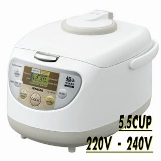 HITACHI Rice Cooker RZ VMA10Y Warmer Steamer 5 5 cups 220 240V Japan