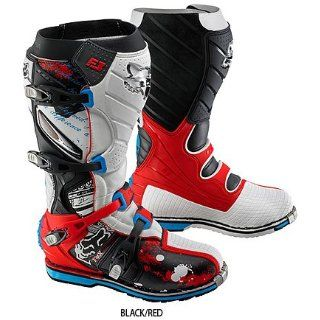 Motorcycle Boots Color Black/Red, Size 13    Automotive