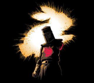 Monty Python Holy Grail Batman Dark Knight Rises PARODY Satire Teefury