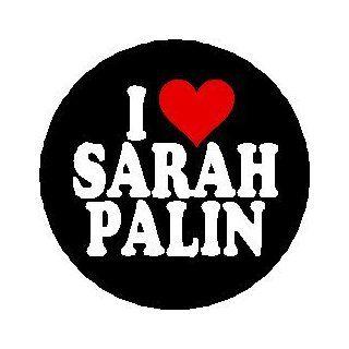 I HEART SARAH PALIN Mini 1.25 Pinback Button Pin /Badge