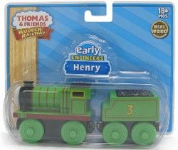 HENRY Early Engineers Train Engine Thomas & Friends Wooden Railway NEW