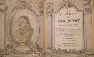 Tom Jones   Henry Fielding   Limited Editions Club   SIGNED