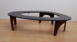 Henry P Glass Custom Made Coffee Table Mid Century Modern Eames Era