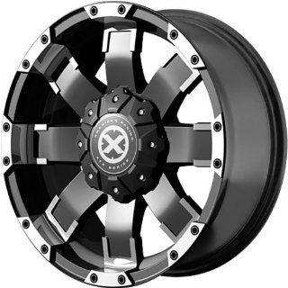 American Racing ATX AX191 18 Black Wheel / Rim 5x4.5 & 5x5 with a 20mm