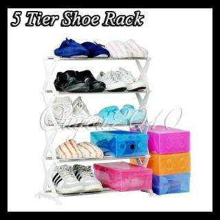 Stainless Steel Shoe Rack Home Organization Holder Housekeeping