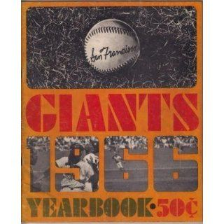 San Francisco Giants 1966 Yearbook   MLB Programs and