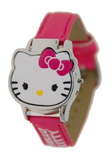 Childrens Hello Kitty LCD Watch with Open Close Cover