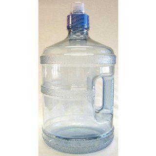 Reusable Blue Plastic Polycarbonate Water Bottle Jug 1.9