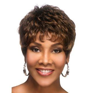 H 222 Human Hair Wig by Vivica Fox: Beauty