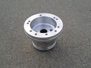 Hole Billet Steering Wheel Hub for Yamaha Golf Cart Rhino