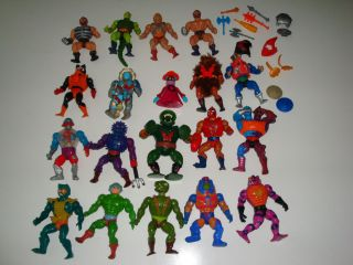He Man MOTU Action Figure Toy Lot Collection Look