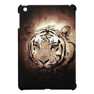 Sepia Tiger iPad Mini Case