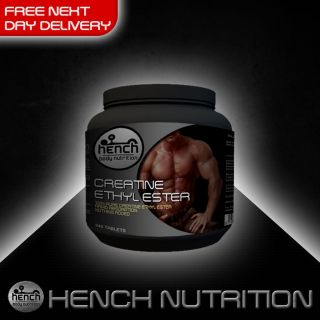HENCH NUTRITION CREATINE ETHYL ESTER EE MUSCLE TABLET EDURANCE ENERGY