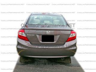 2012 2013 Honda Civic High Polished Muffler Exhaust Tip