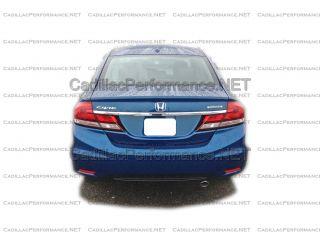 2013 Honda Civic High Polished Muffler Exhaust Tip