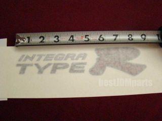 RARE JDM Type R Decal Honda Integra DC5 02 06 Combo New