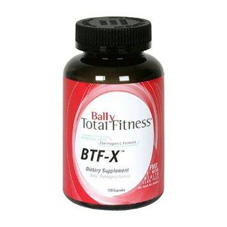 Bally Total Fitness Dietary Supplement, BTF X, Bally