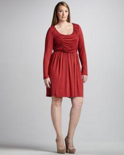 Rachel Pally Ruch Front Jersey Dress, Womens