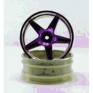Redcat Racing 06008pl Chrome Front 5 Spoke Yellow Anodized