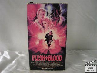 Flesh and Blood VHS Rutger Hauer Jennifer Jason Leigh 028485151116