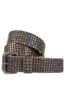 HTC Hollywood Trading Company New Man 6 000 Studs Belt Sz 85 ITA 34