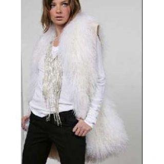 Haute Hippie Mongolian Lamb Fur Vest
