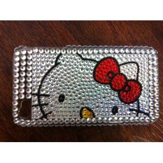 Hello Kitty Diamond Rhinestone Bling Hard Case For iPhone
