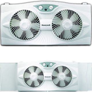 Speed Twin Window Fan Honeywell Electric Portable AC Air Cooler