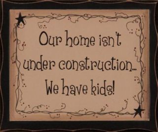 Rusticcountry Wood Block Sign Funny Antique Humor Home Decor