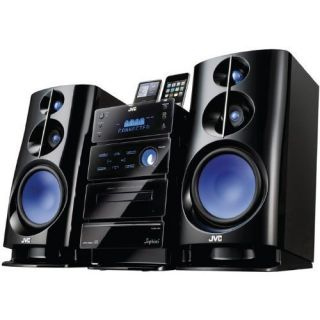 JVC NXD2 NX D2 Home Stereo System with Subwoofer Touch Screen Dual