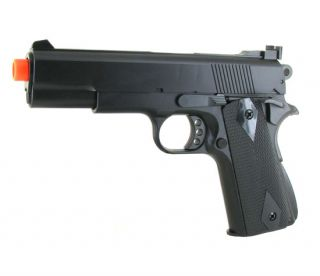 New HFC Airsoft Black Ops M 1911 A1 Spring Hand Gun Pistol Sniper
